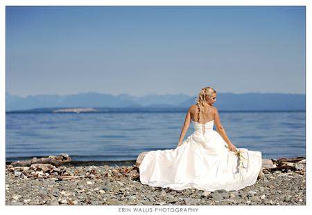 Bride in beautiful