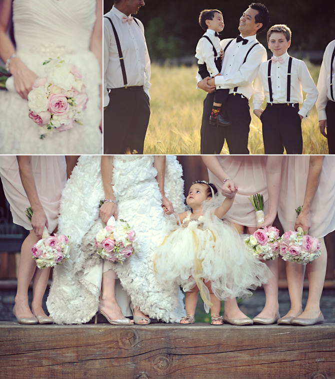 adorable flower girl photo