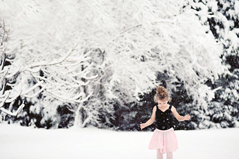 Ballerina snow