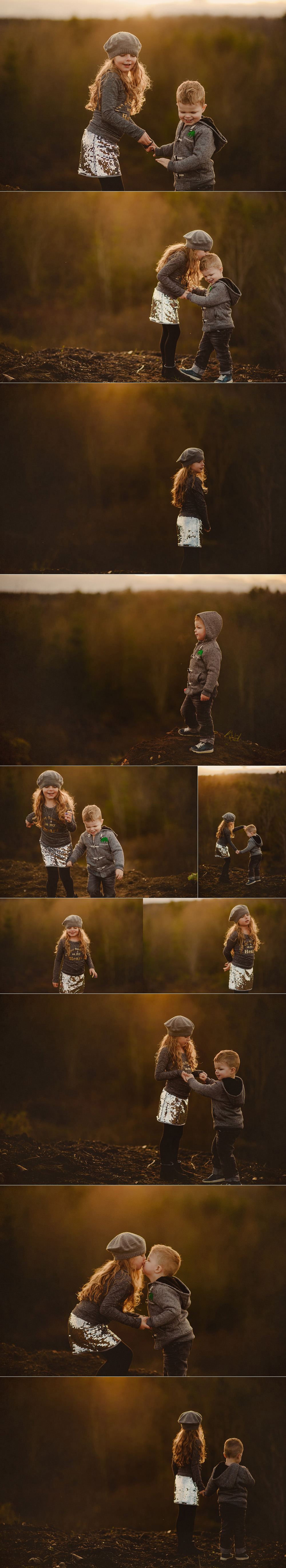 beautiful children, beautiful light