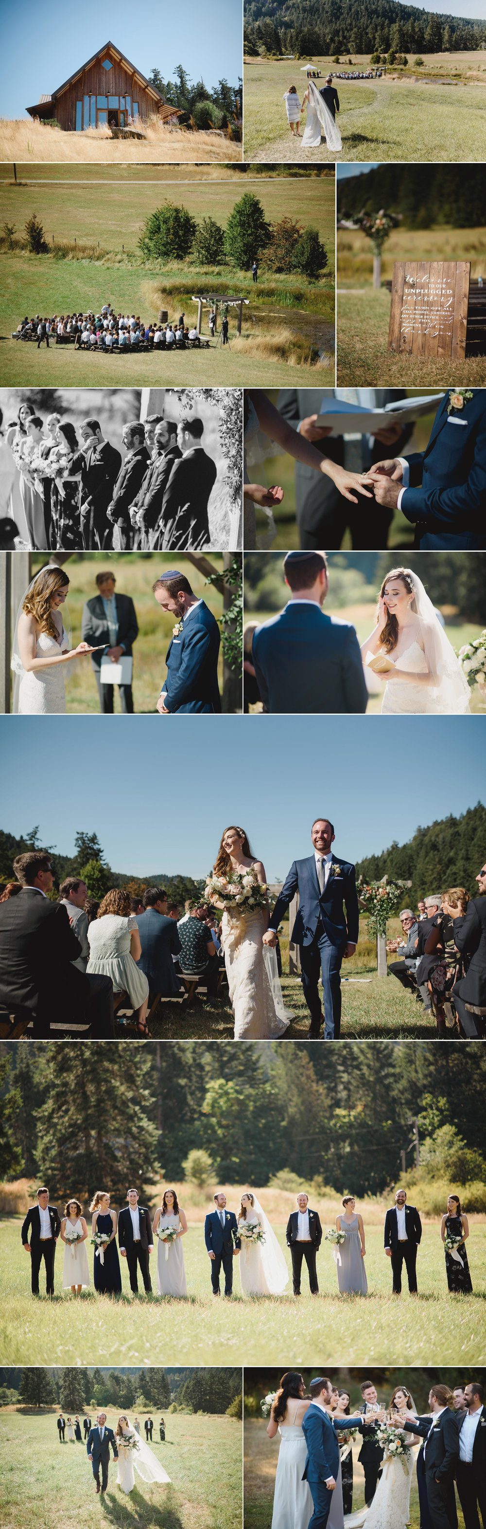 cowichan bay wedding photographer