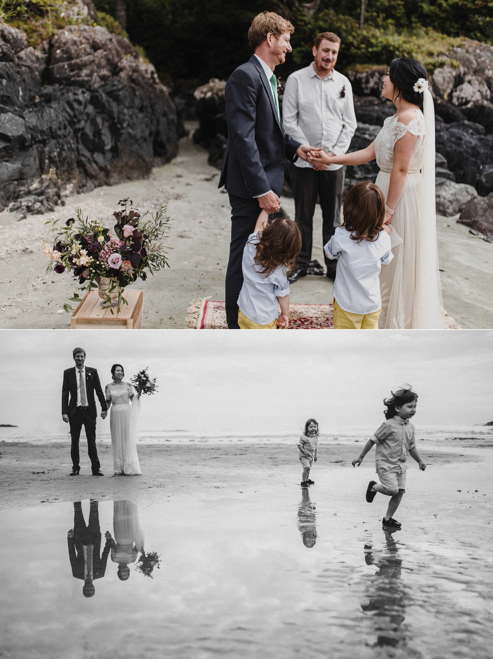chestermans beach wedding
