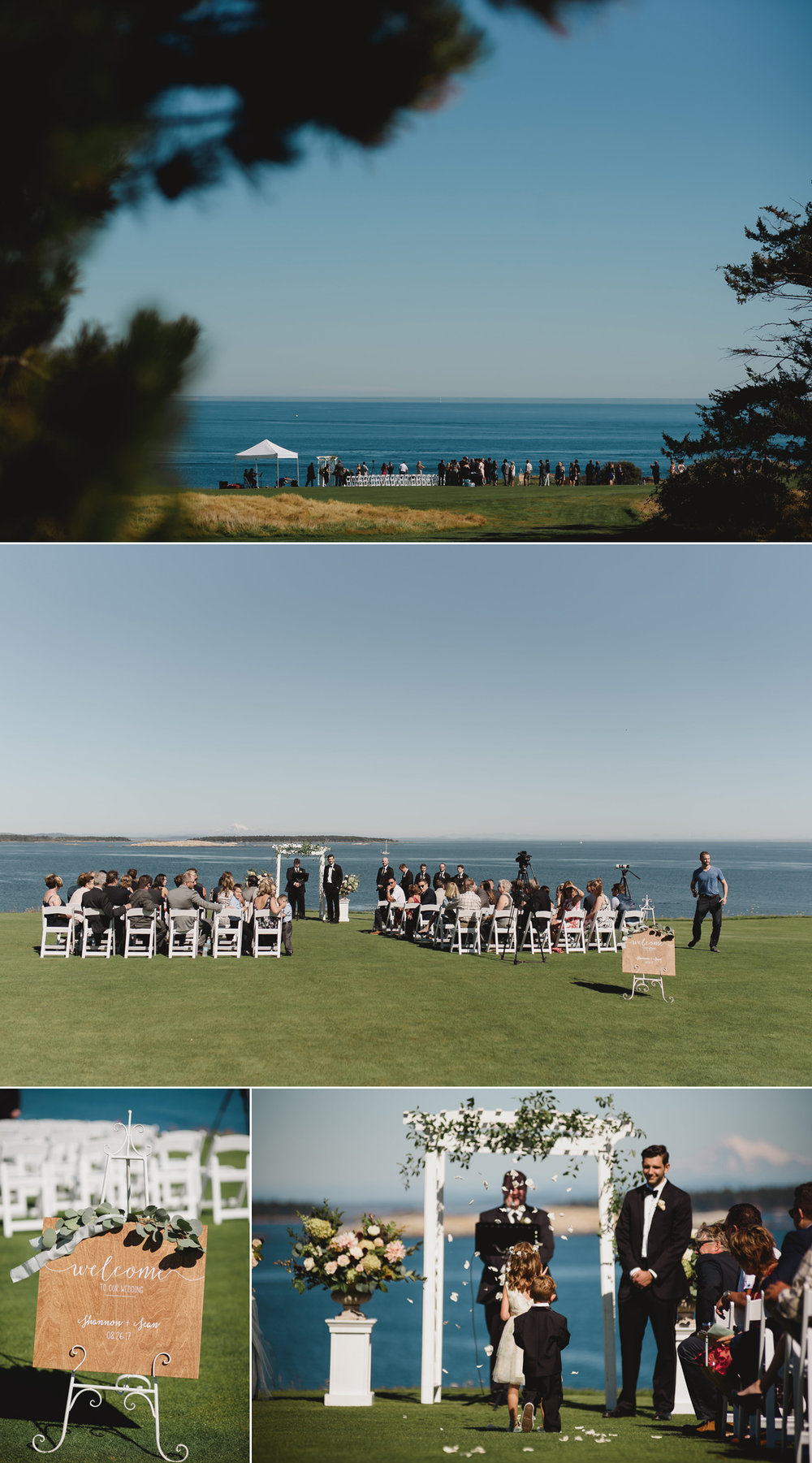 victoria golf club wedding