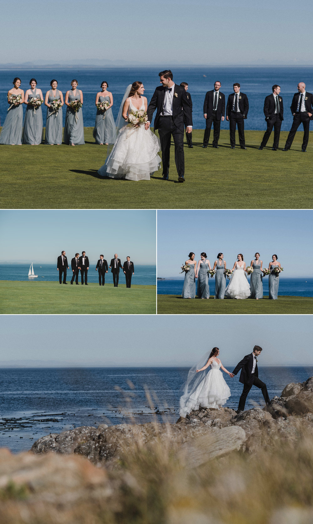 victoria golf course wedding