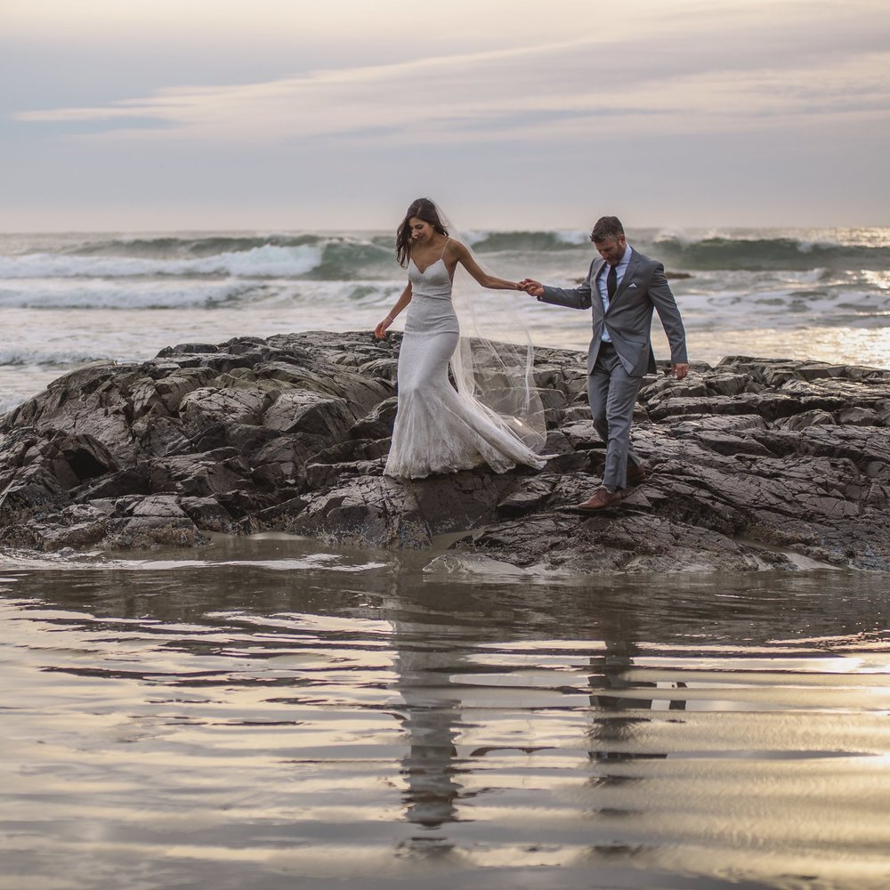tofino beach wedding