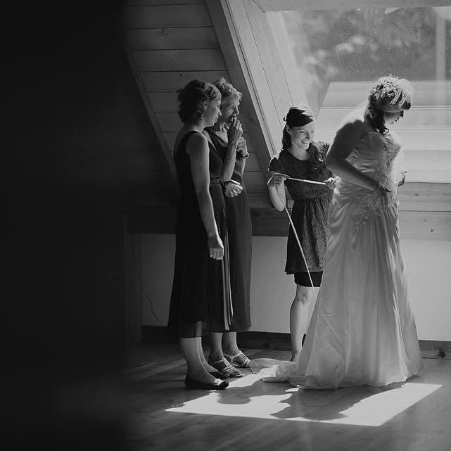 birds eye cove wedding