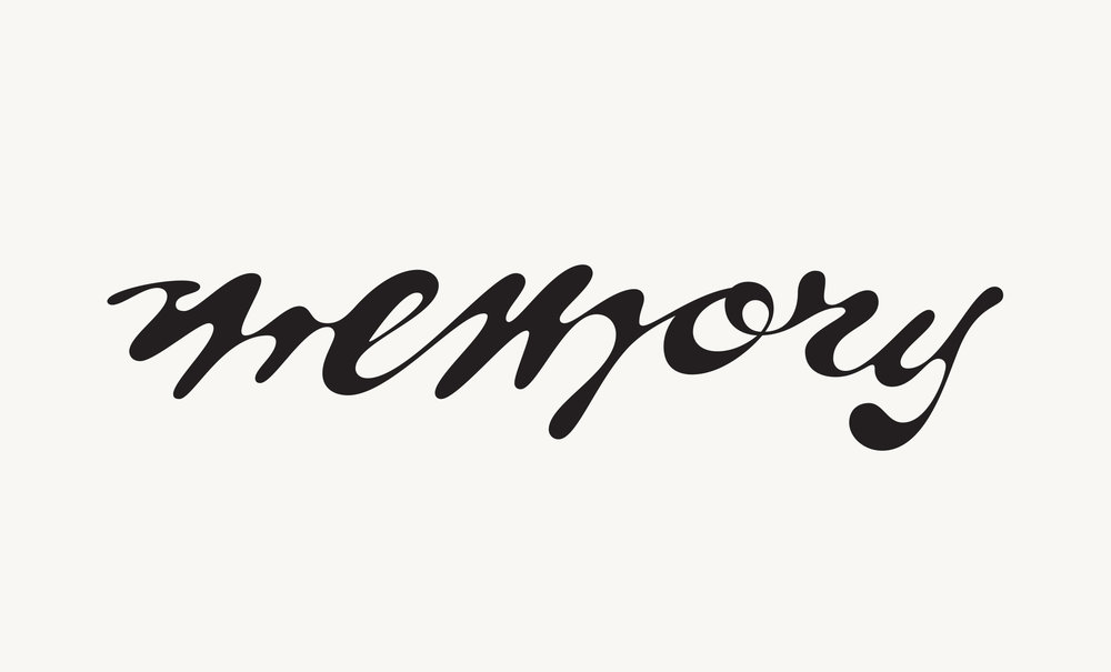 Lettering created for  Short Term Memory Press