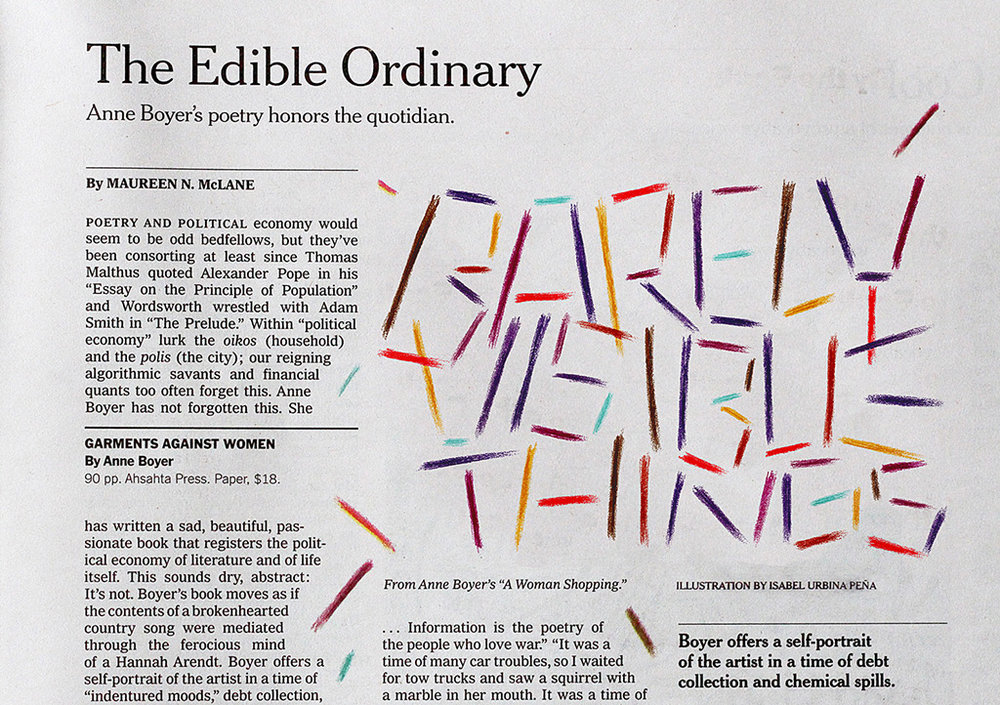 Illustration for The New York Times Book Review. AD: Matt Dorfman