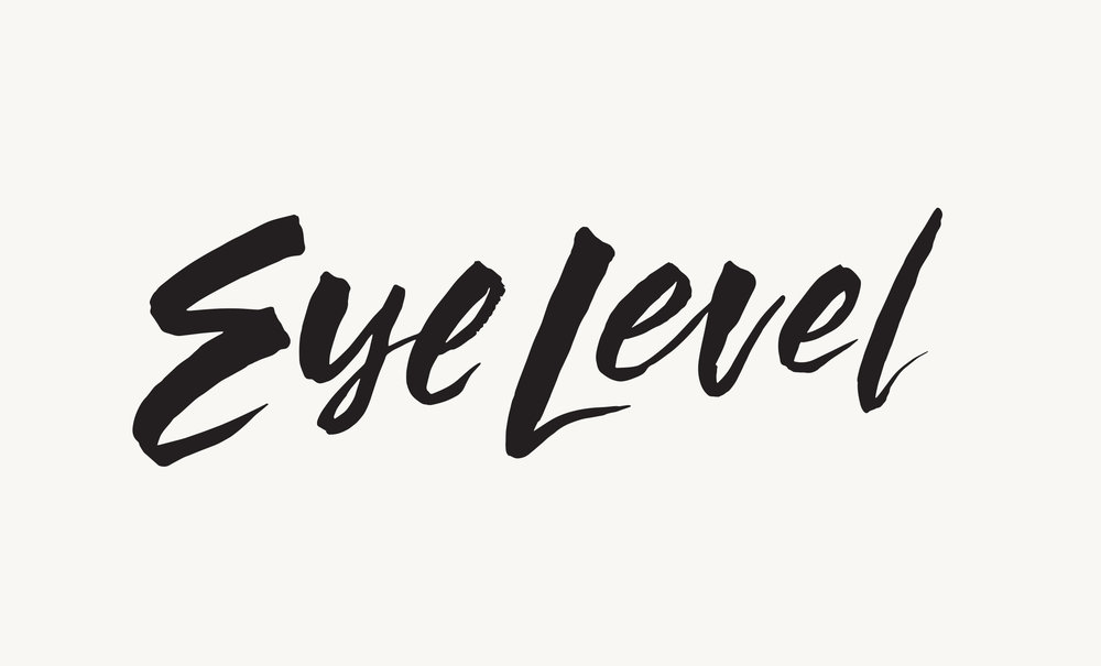 Branding for Eye Level, an online magazine for everything literary