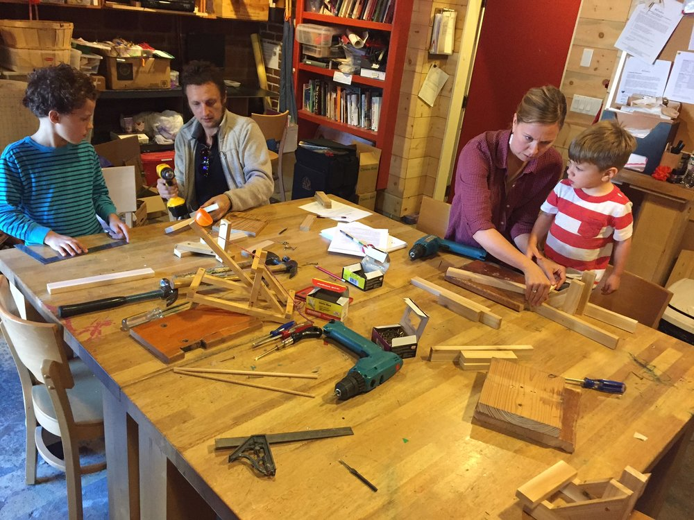 Family Woodworking Workshops Seattle Recreative