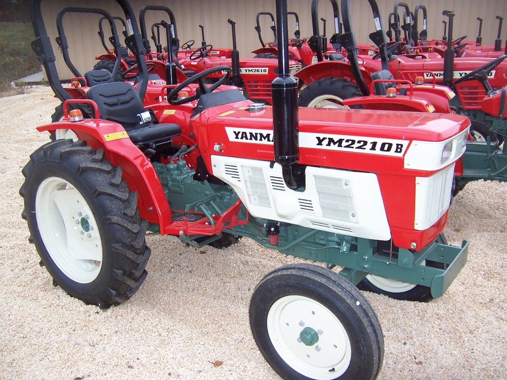 Yanmar YM 2210B 26 hp, 2 cylinder diesel, 2wd, powershift transmission, with roll over protective structure. Built in 1979. $5,599 $6,899 4WD