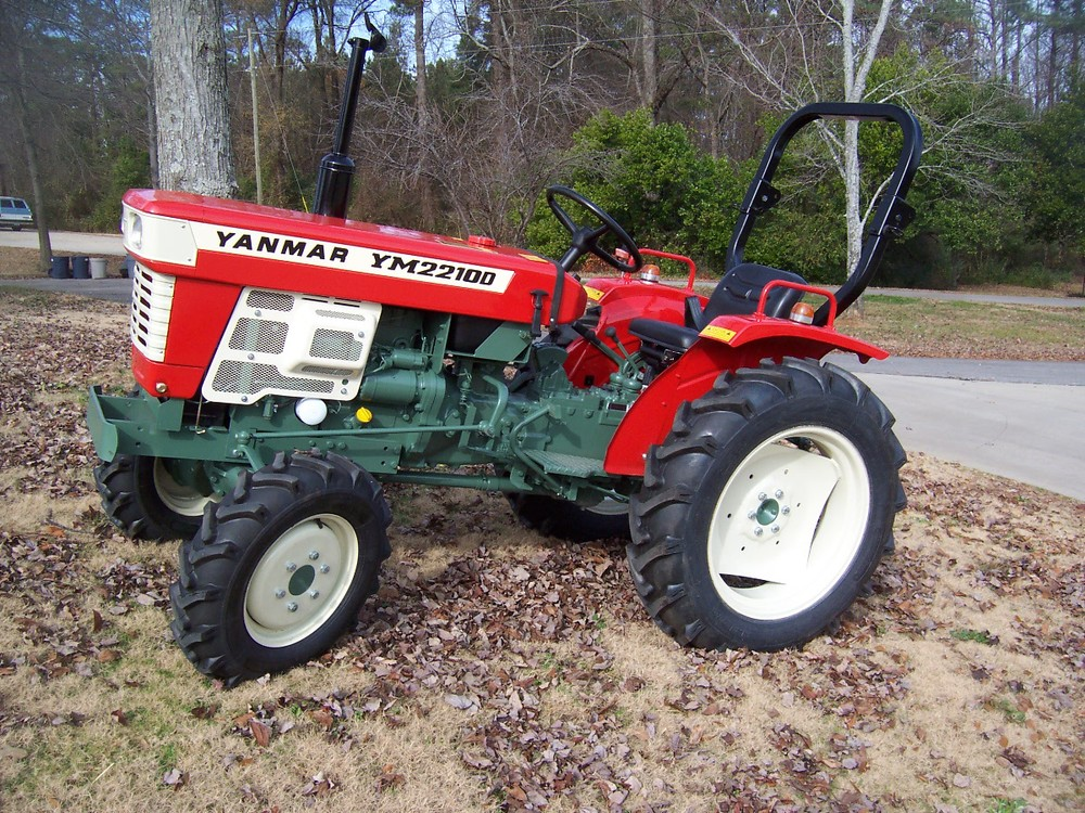 Yanmar YM 2210D  26 hp, 2 cylinder diesel, 4wd, powershift transmission, with roll over protective structure. Built in 1977 and 1978.   $6,699 $5,399 2WD