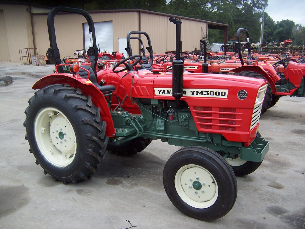 Yanmar YM 3000  36 hp, 3 cylinder diesel, 2wd, gear transmission, with roll over protective structure. Built in 1977 and 1978.   $7,399