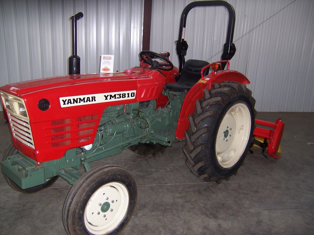 Yanmar YM 3810  46 hp, 3 cylinder diesel, 2wd, power steering, powershift transmission, with roll over protective structure. Built in 1980 and 1981.   $8,499 $9,499 4WD
