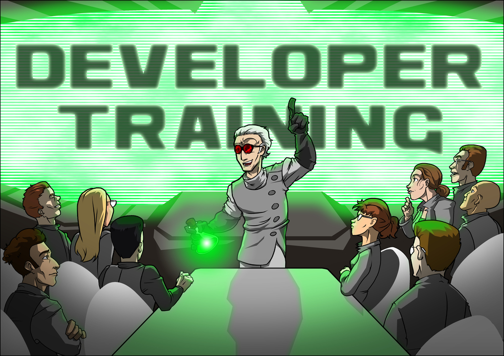 Secret Lab offers training courses on iOS development, Unity development, and game design. We literally wrote the book on the topics that we teach.