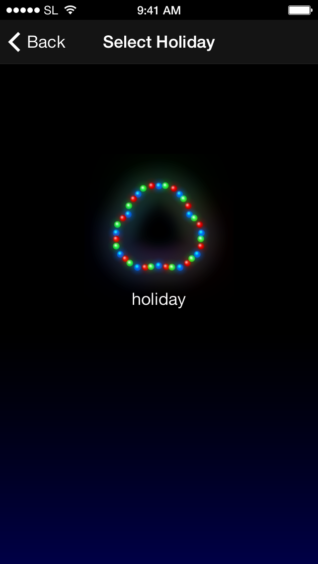 Holiday browser