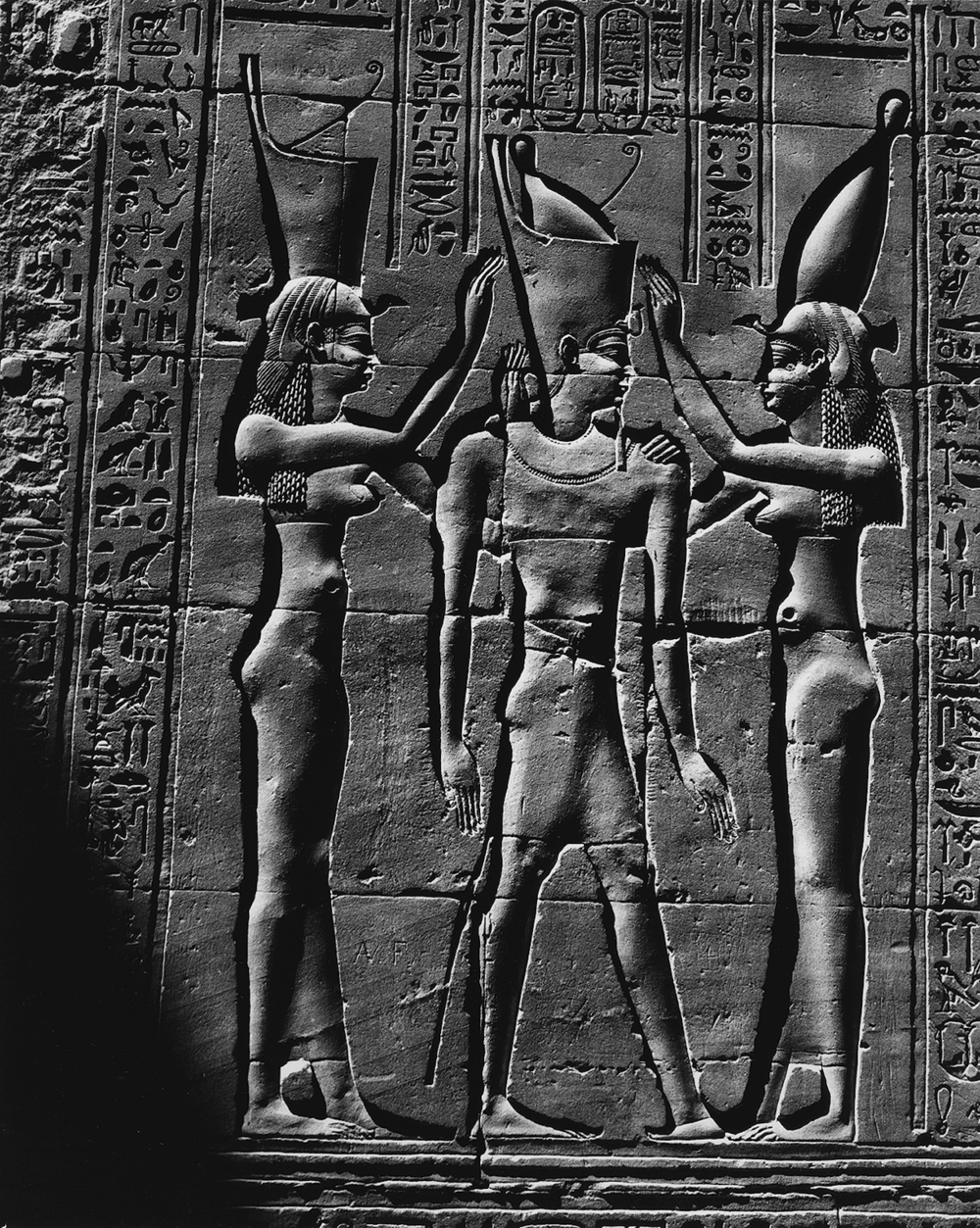 Crowning the Pharaoh, Edfu