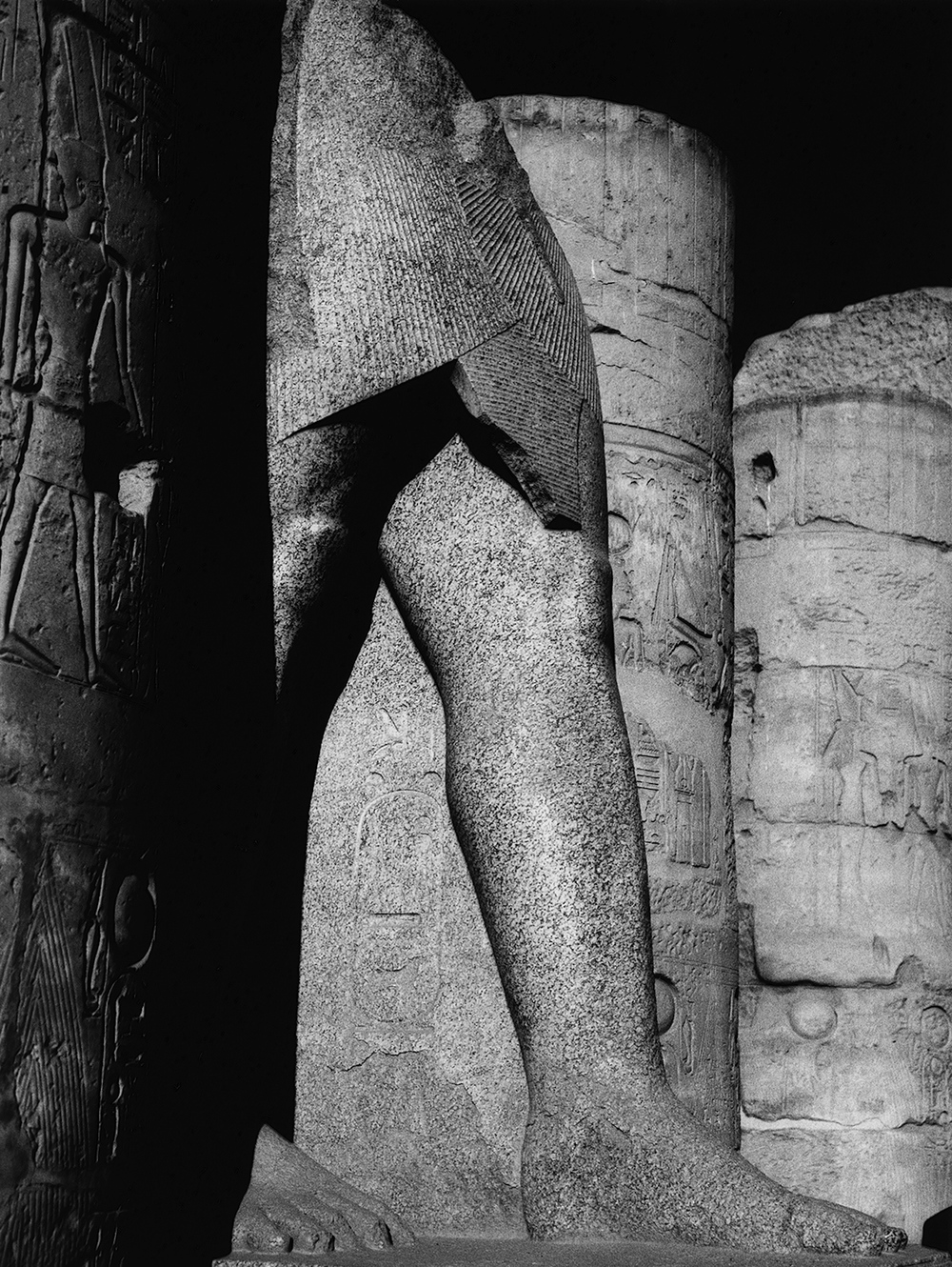 Pillar, Luxor Temple
