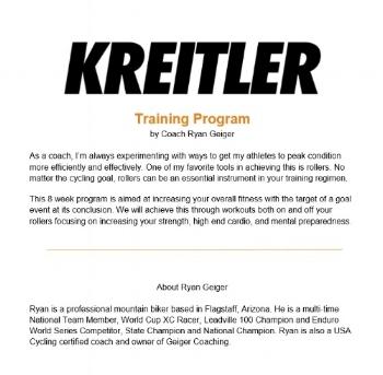 Kreitler Training Program