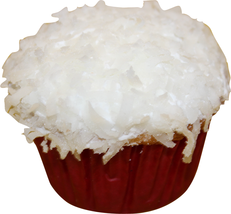 White Coconut Cupcake