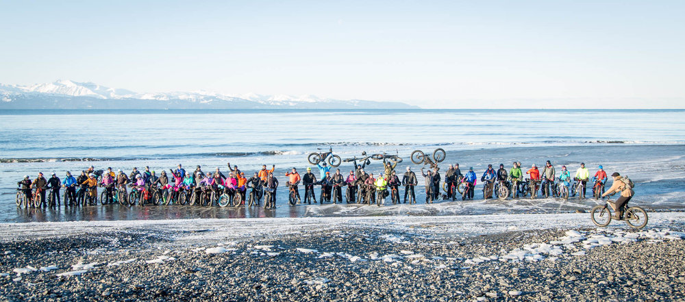 Homer Cycling Club's Big Fat Bike Festival - Homer, Alaska.
