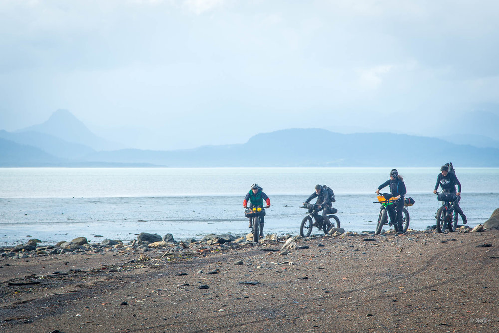 The Kachemak Bay Adventure Trail.