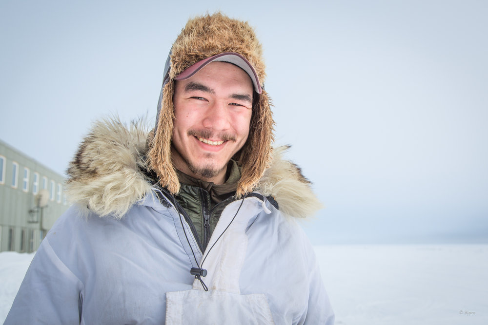 Kaktovik musher Vebjørn followed his father  Ketil Reitan  to Nome on snowmachine. Kim and I met Vebjørn and Ketil in 2015 in White Mountain village. They had finished the Iditarod and were mushing home to Kaktovik. They are attempting to mush home again this year.