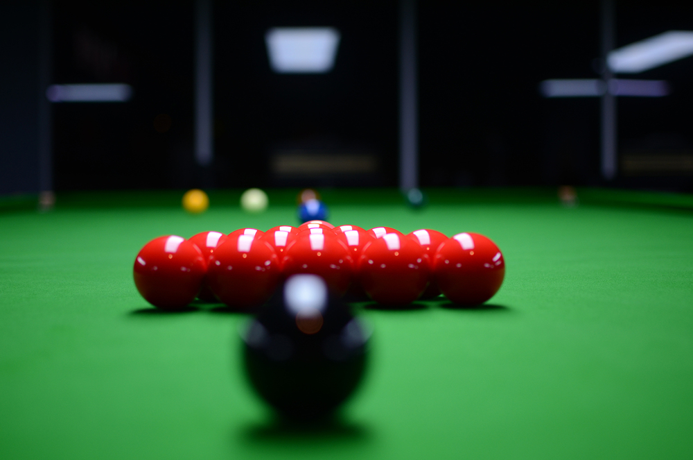 We also have snooker tables!
