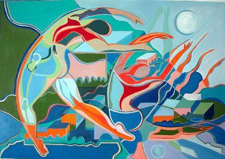 Hope & Despair 1 - 2006 - oil on canvas