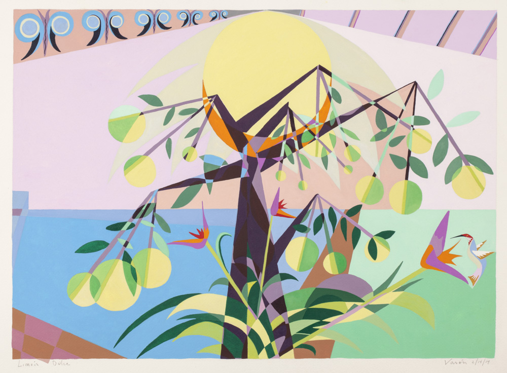 Lemon Tree - 2013 - watercolor