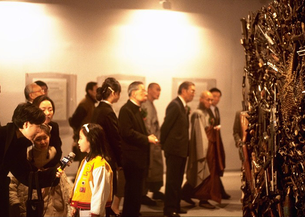 Art Exhibit opening in Korea