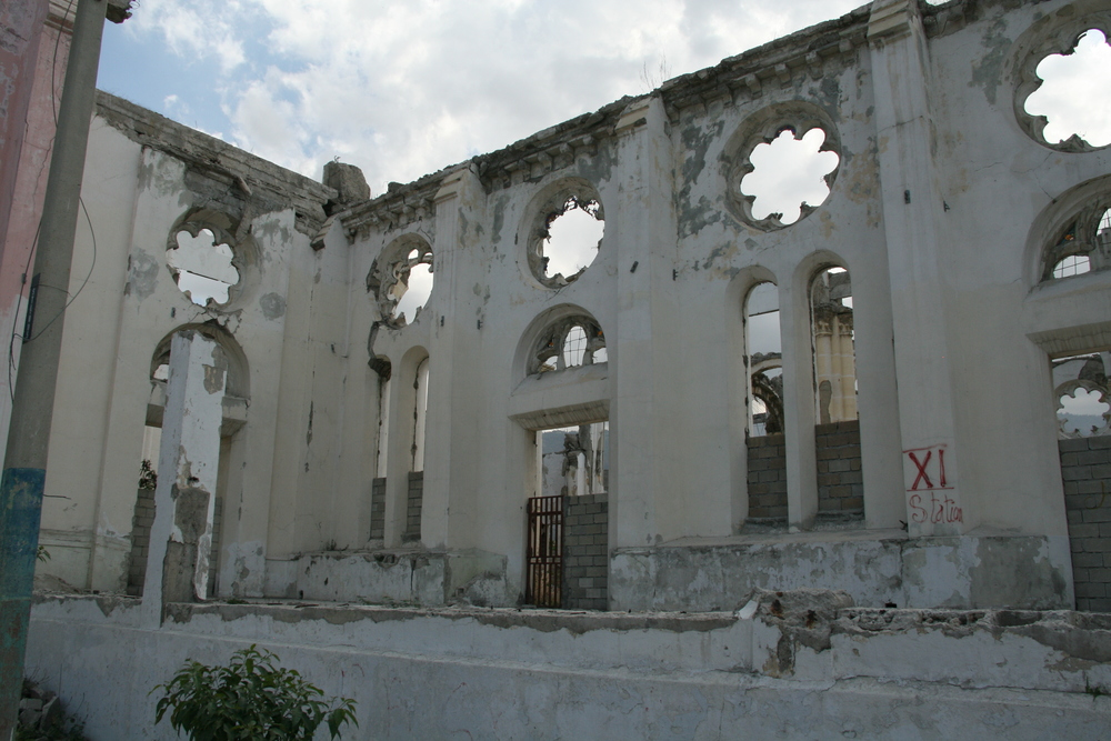 The Notre Dame Cathedral in Port-au-Prince