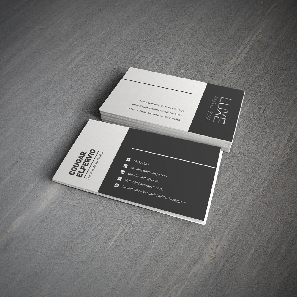 Business Cards — Jeff Nelson Design