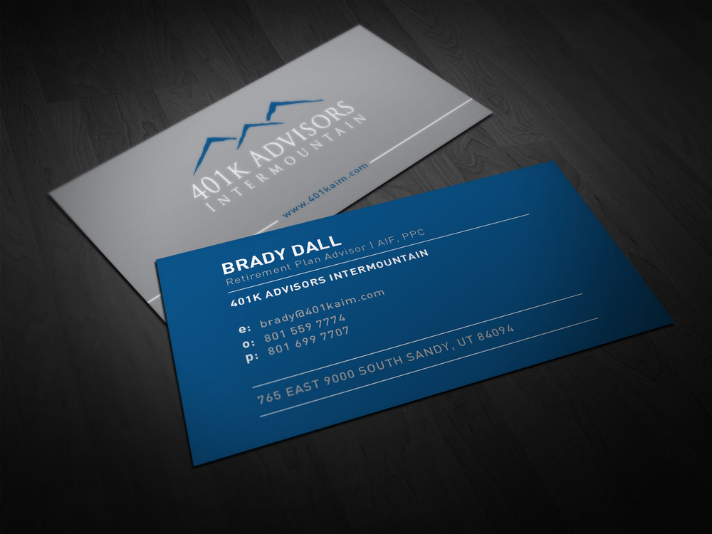 Business cards jeff nelson design 401kbizcards4g reheart Choice Image