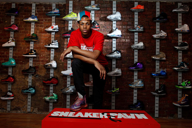 10th Grader, Chase Reed, Opens first sneaker pawn shop