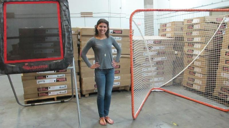 rachel Zeitz, owner of gladiator lacrosse