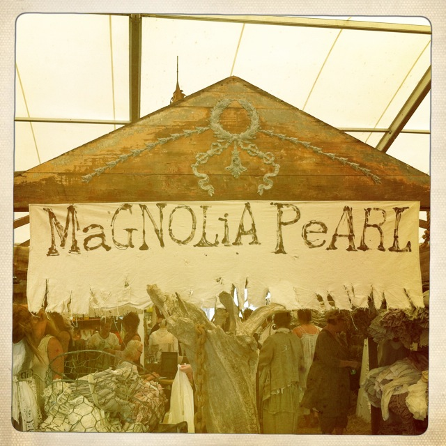 Magnolia Pearl Fall 2012 Booth