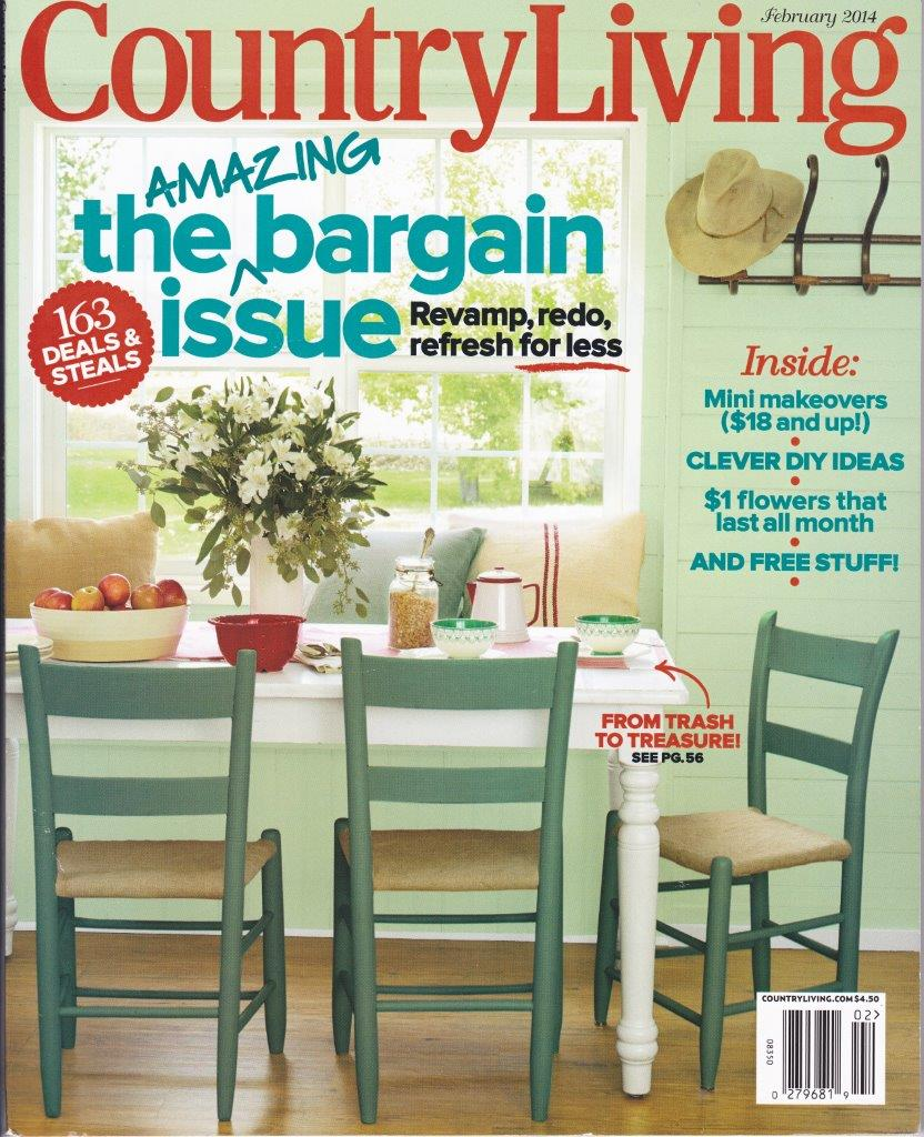 February 2014 Country Living Magazine