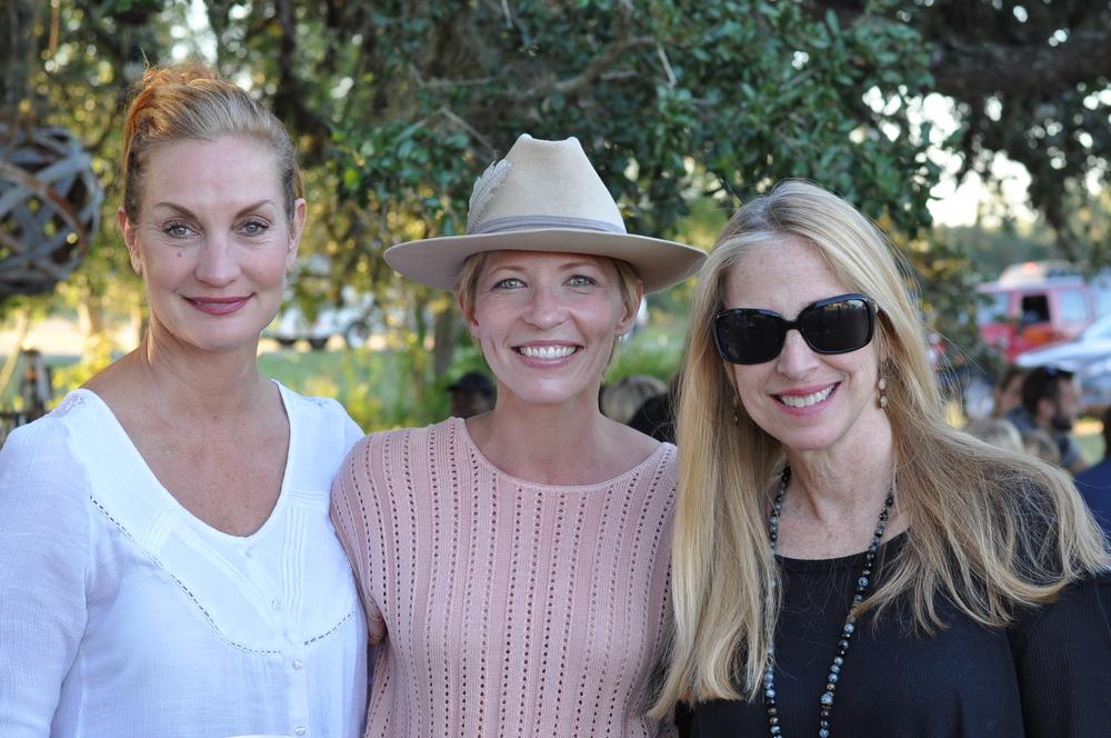 Andrea Reibling, Sara Eliason, and me