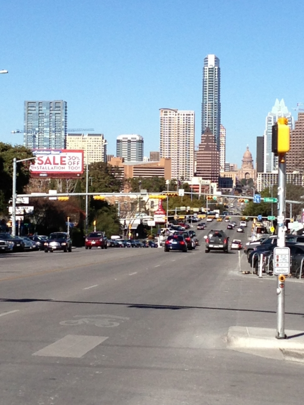 Travel Journal - Austin, Texas from The Vintage Round Top