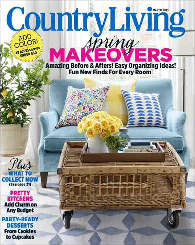 The Vintage Round Top as seen in Country Living, March 2015