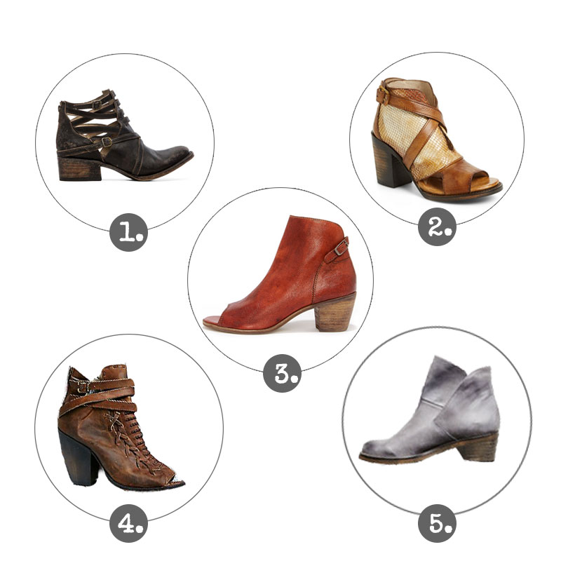 Paige's Picks - Boots, Spring 2015 -The Vintage Round Top