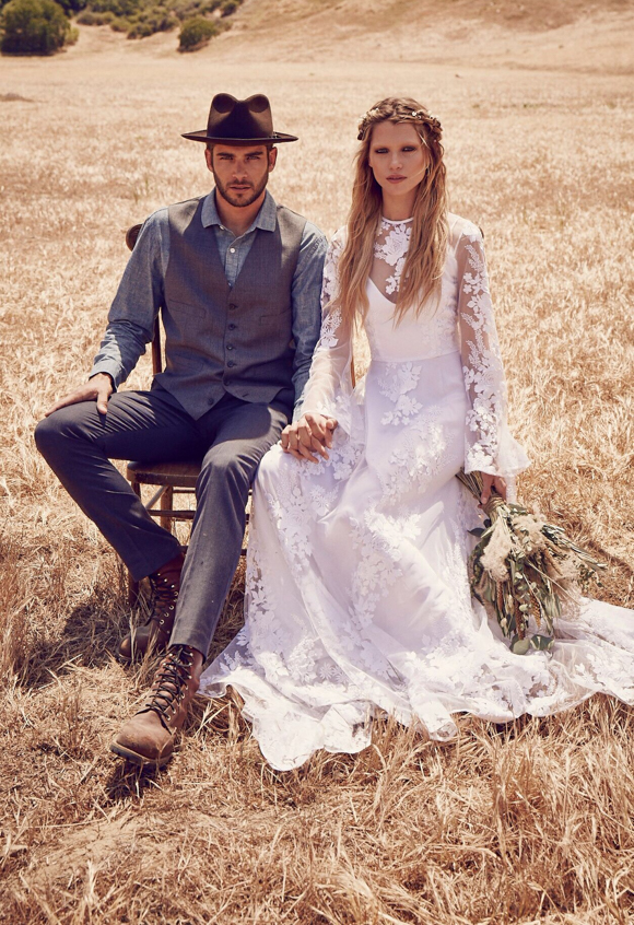 FPEverAfter - Free Press Bridal Collection, The Vintage Round Top