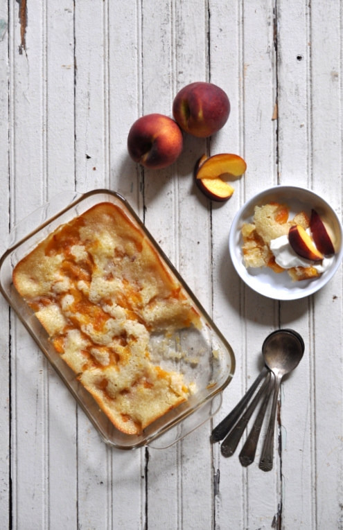 Vintage Sweets - Peach Cobbler, The Vintage Round Top