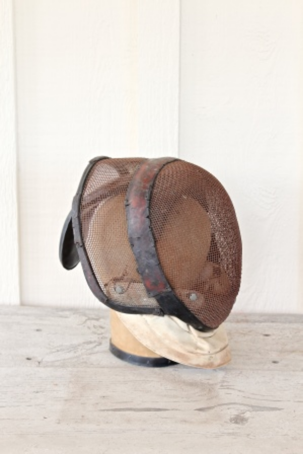 Vintage Fencing Mask, The Vintage Round Top
