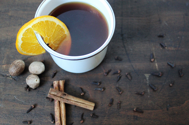 SPICED CIDER, THE VINTAGE ROUND TOP