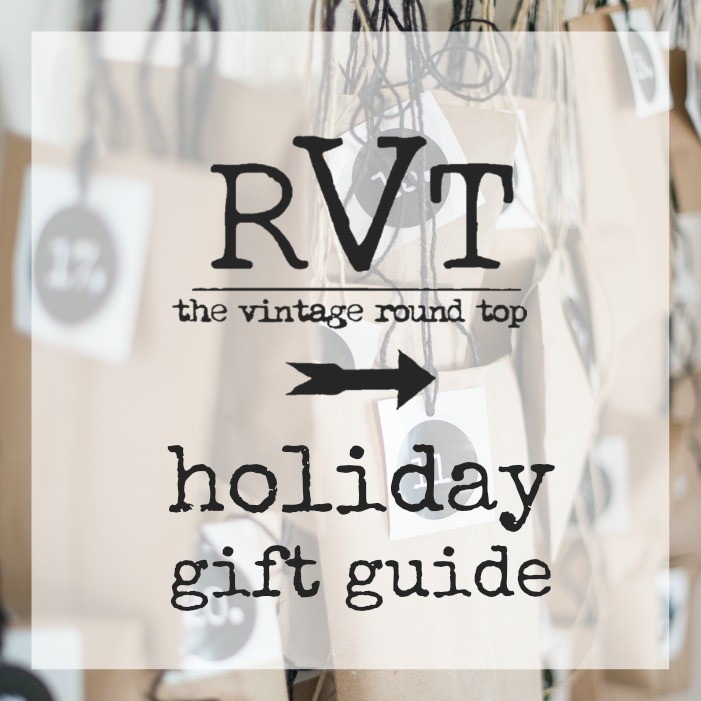 RVT HOLIDAY GIFT GUIDE, THE VINTAGE ROUND TOP
