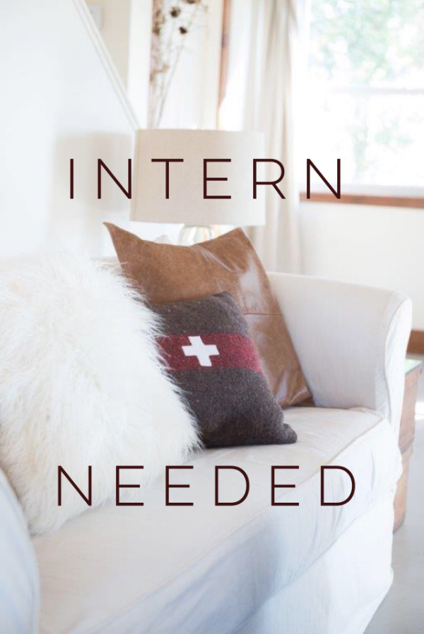 INTERN NEEDED, THE VINTAGE ROUND TOP