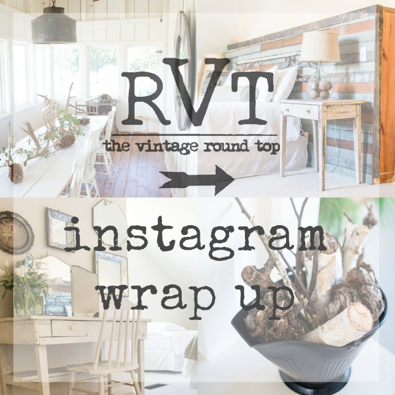 THE VINTAGE ROUNDTOP - INSTAGRAMWRAPUP