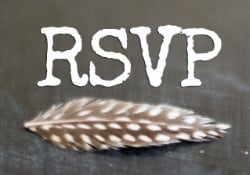 RSVP to TRIBE by THE VINTAGE ROUND TOP